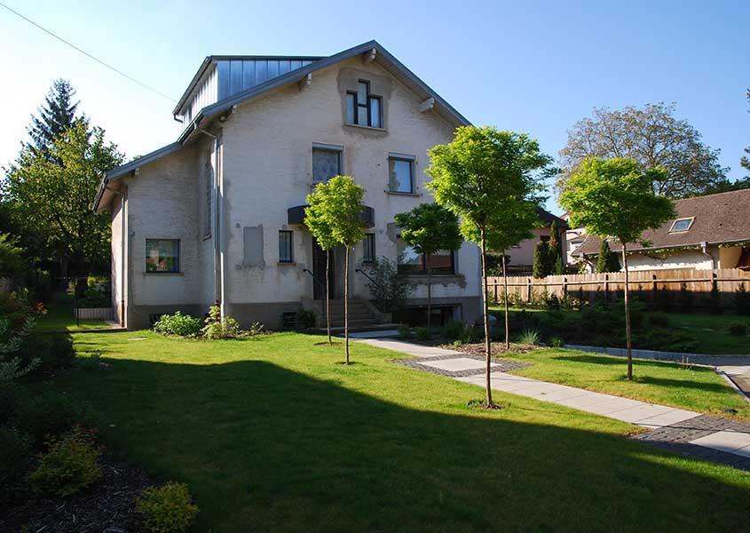 Terrasse jardin olgreen paysagiste mulhouse 68 l 39 architecte de vos espaces verts - Jardin terrasse toit mulhouse ...